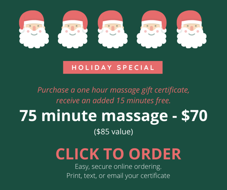 Angel Light Therapeutic Massage gift certificate Batesville Inidiana